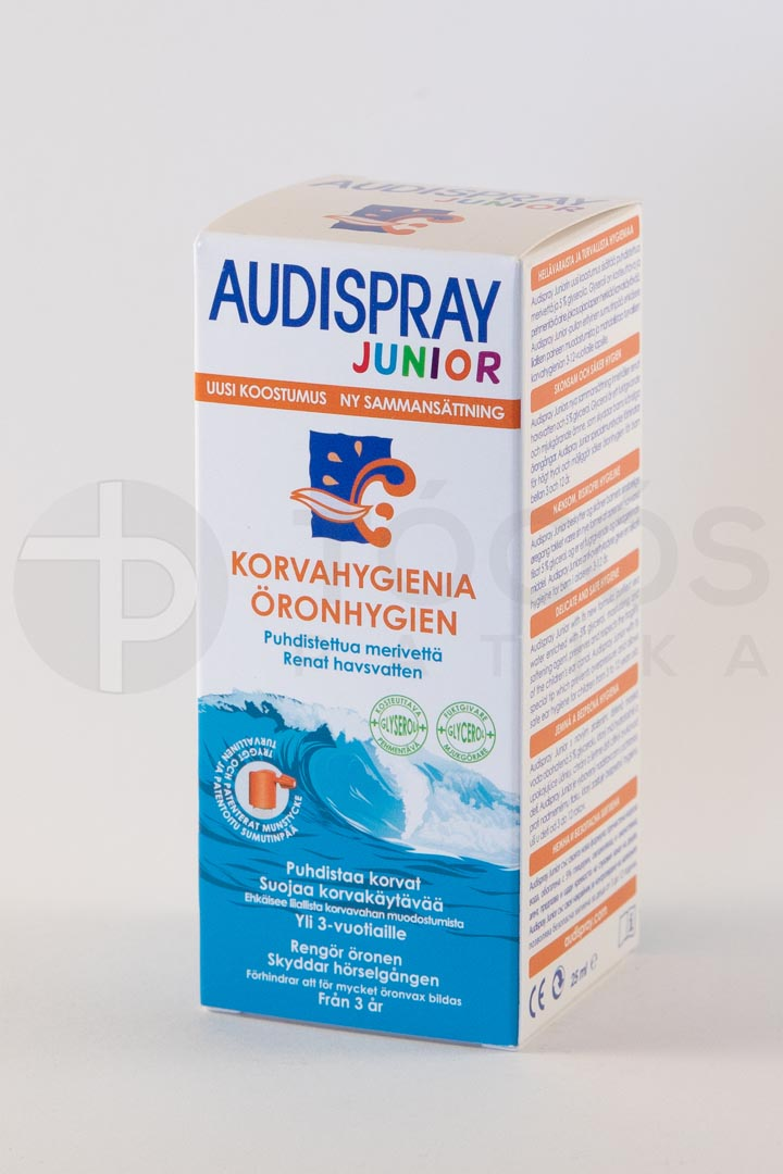 Audispray Junior fülspray 25ml