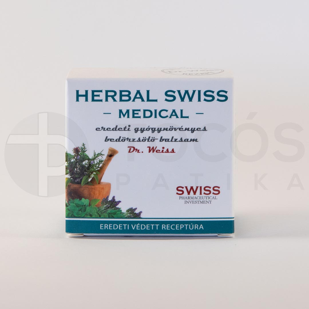 Herbal Swiss balzsam bedörzsölő 75ml