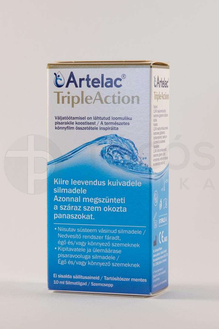 Artelac Triple Action szemcsepp 10ml