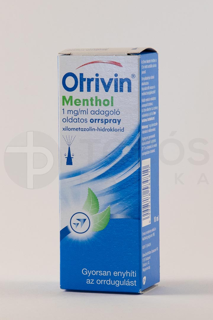 Otrivin Menthol 1 mg/ml adagoló oldatos orrspray 1x10ml