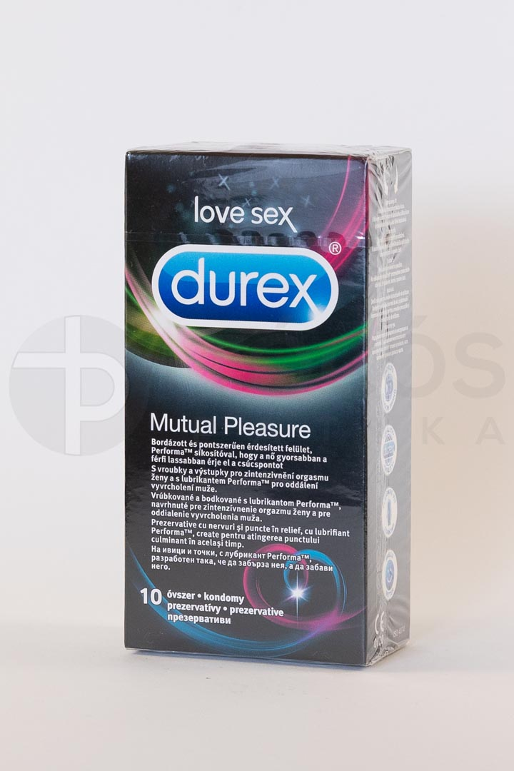 Óvszer Durex Mutual Pleasure 10x