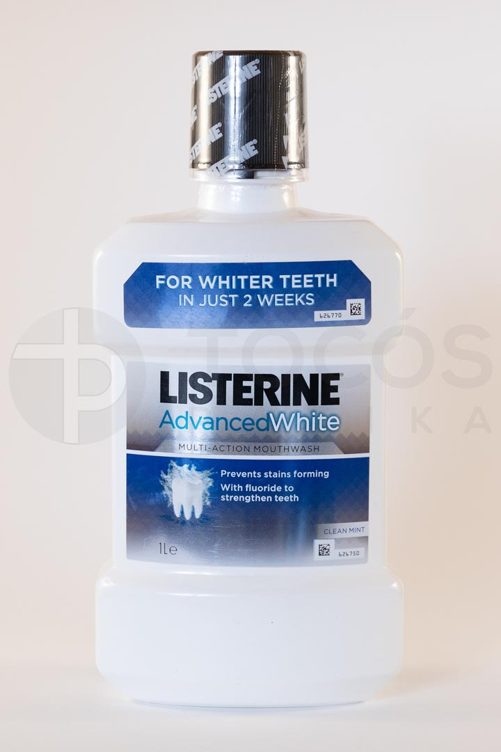 Listerine advanced white 1L